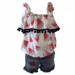 Lilitop 1852LILITOP Kız Kot Pantolon