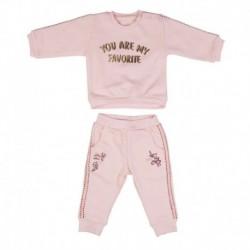 Wonder Kids WK15S2801 Erkek Bebek 2 Li Tshirt Takım